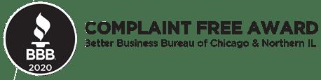 BBB Complaint Free Award Mice Hunters 2020