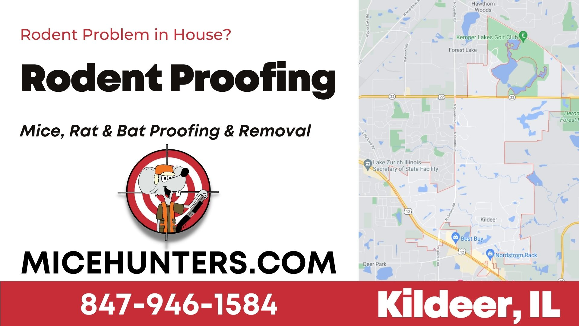 Kildeer,IL Rodent and Mice Proofing Exterminator