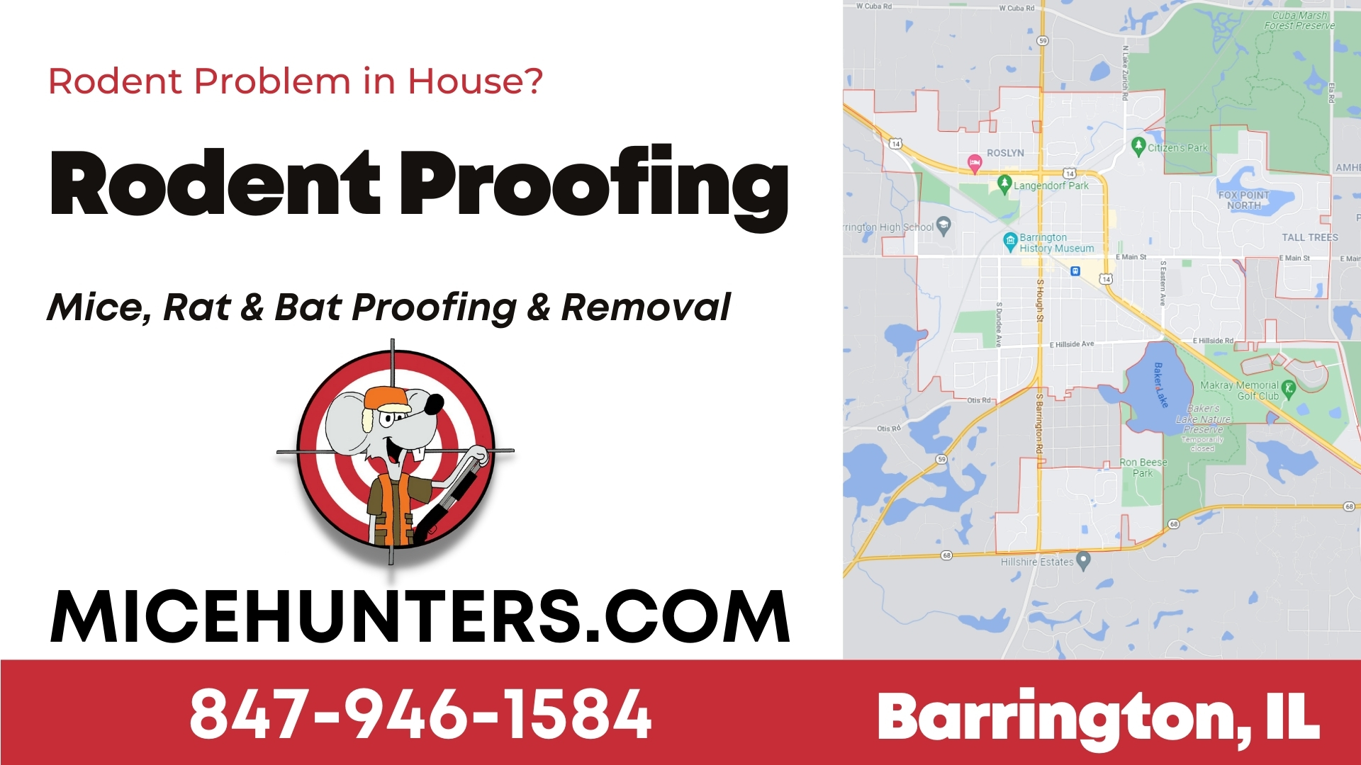 Barrington Rodent and Mice Proofing Exterminator
