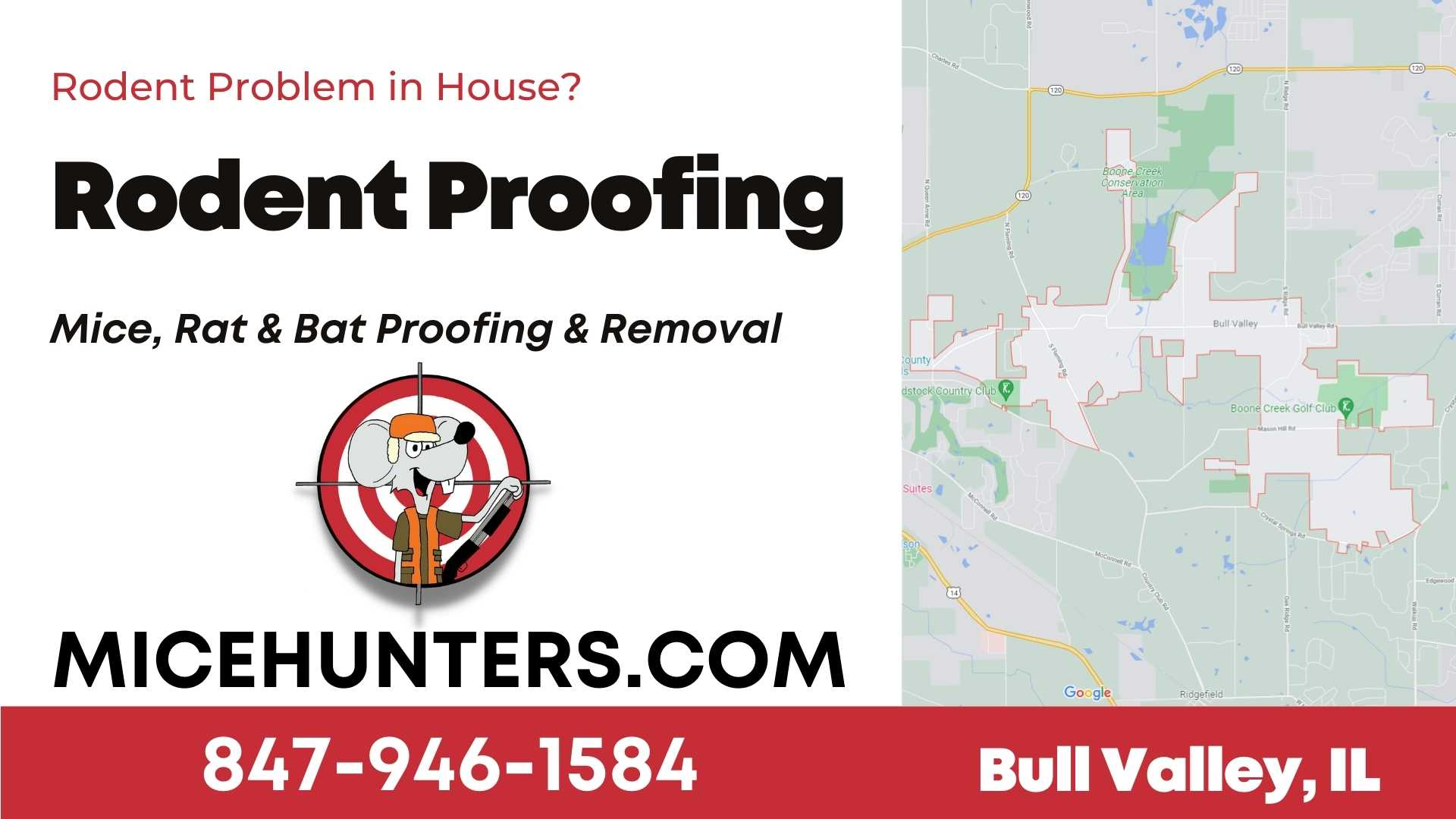 Bull Valley Rodent and Mice Proofing Exterminator near me