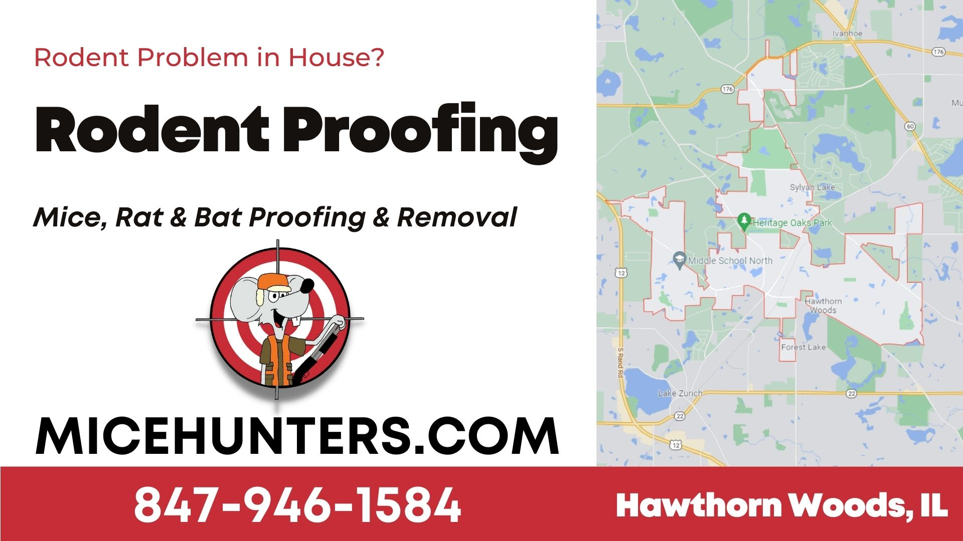 Hawthorn Woods Rodent and Mice Proofing Exterminator