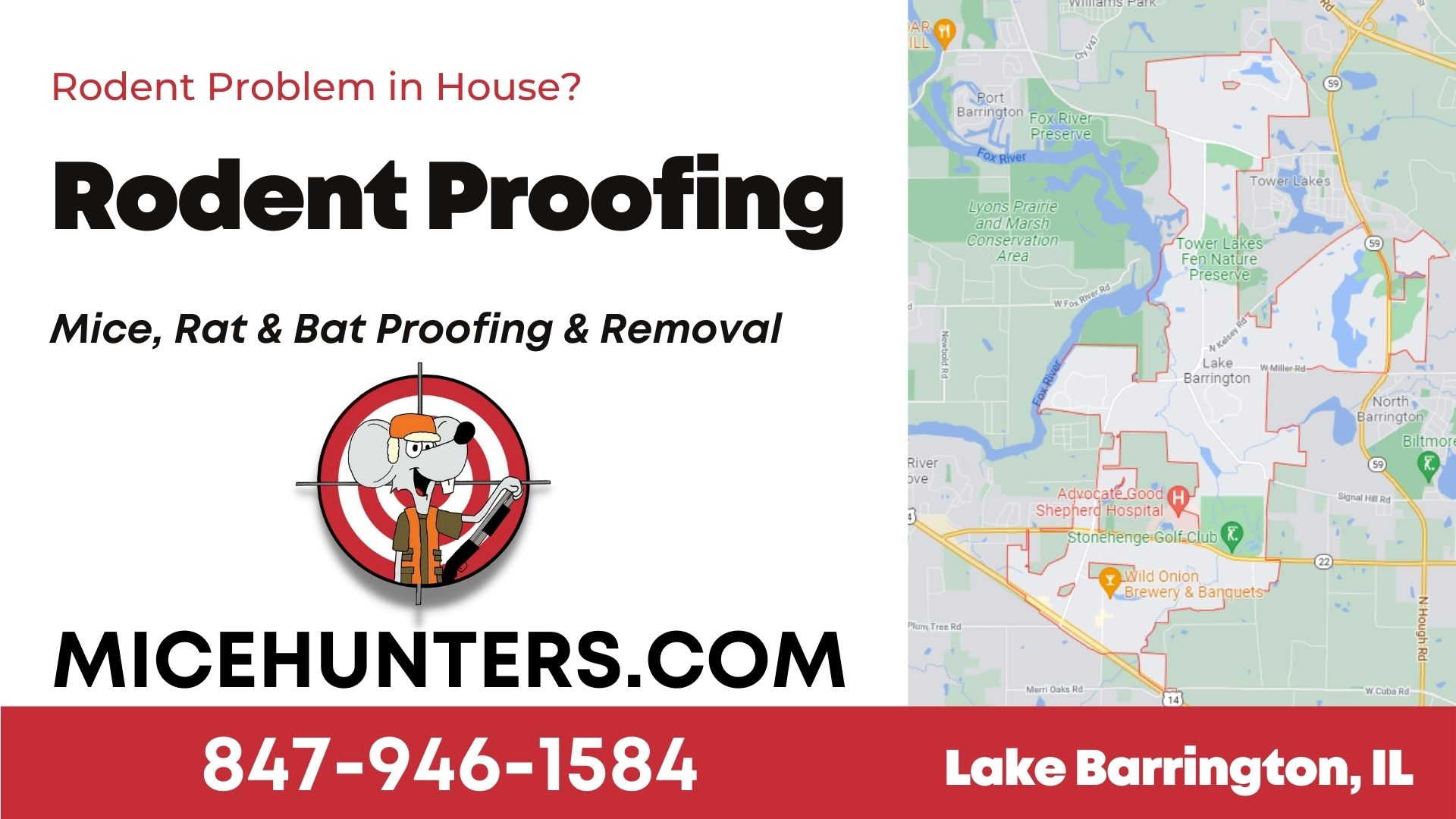 Lake Barrington Rodent and Mice Proofing Exterminator