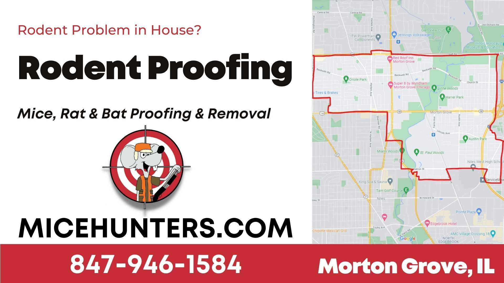 Morton Grove Rodent and Mice Proofing Exterminator Near Me