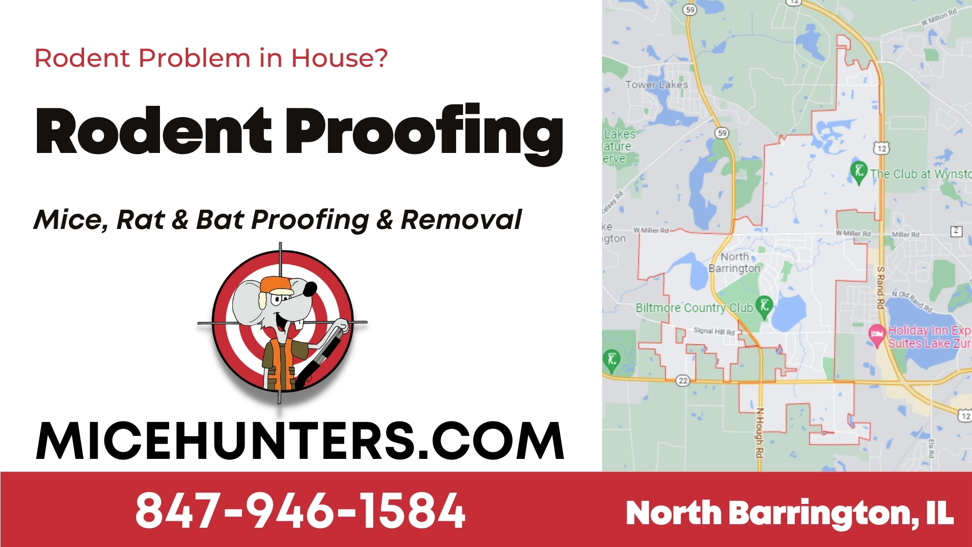 North Barrington Rodent and Mice Proofing Exterminator