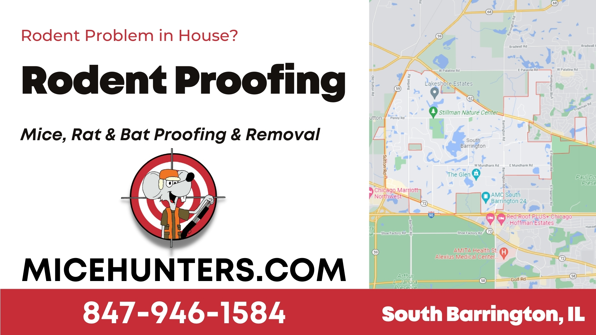 South Barrington Rodent and Mice Proofing Exterminator